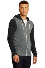 Colorblock zip hoodie by Alternative