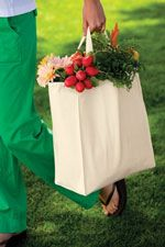 B100 Grocery tote in natural