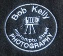 Bob Kelly Photography embroidered logo