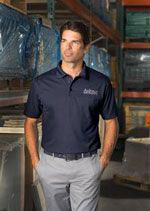 Men's snag-proof performance polo