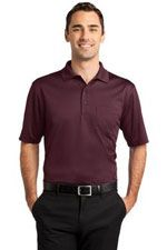 CS413 Men's snag-proof pocket polo in burgundy