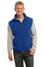 Value polar fleece vest