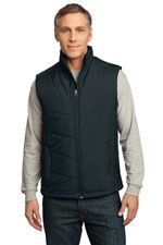 J709 Men's puffy vest in black