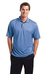 Men's contrast trim polo