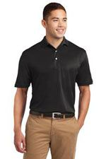 K469 Men's dry mesh polo in black