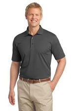 K527 Men's tech pique polo in grey
