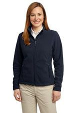 L217 Ladies value fleece jacket in black