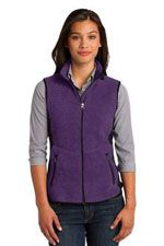 Ladies 12-ounce fleece vest