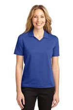 L455 Ladies Rapid Dry polo in royal