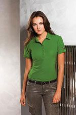 LOG101 Ladies Ogio Jewel polo in green