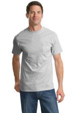 PC61PT 100% cotton T-shirt in light grey