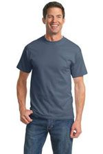 PC61T 100% cotton tall T-shirt in blue
