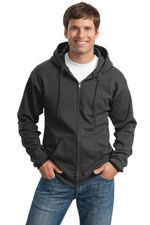 Full zip hoodie in a tall size