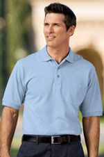 100% cotton tall sized polo shirt