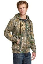 Realtree sweatshirt wth full zipper