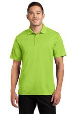 ST650 Men's micropique sport-wick polo in lime shock